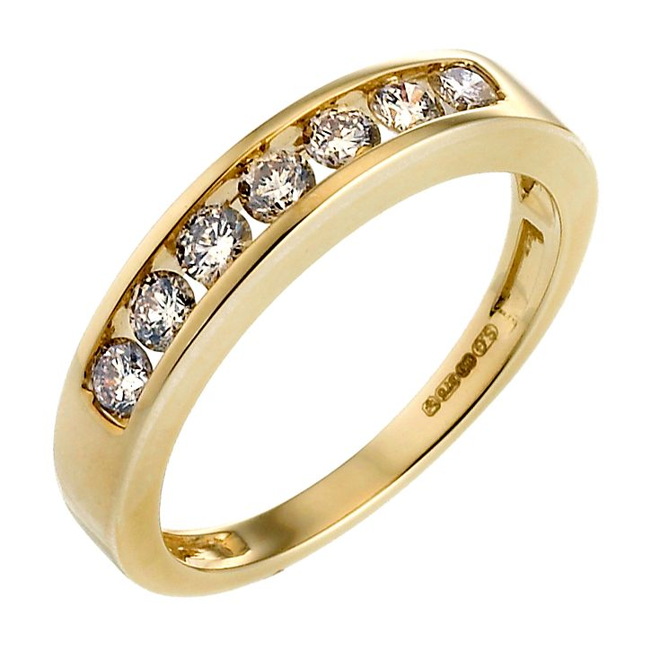9ct Gold Half Carat Diamond Eternity Ring - Product number 4572467