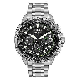 Citizen Eco-Drive Satellite Wave Men's Steel Bracelet Watch - Product number 4574540
