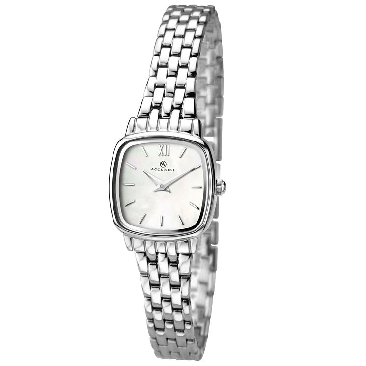 Accurist Ladies' Stainless Steel Bracelet Watch - Product number 4575121