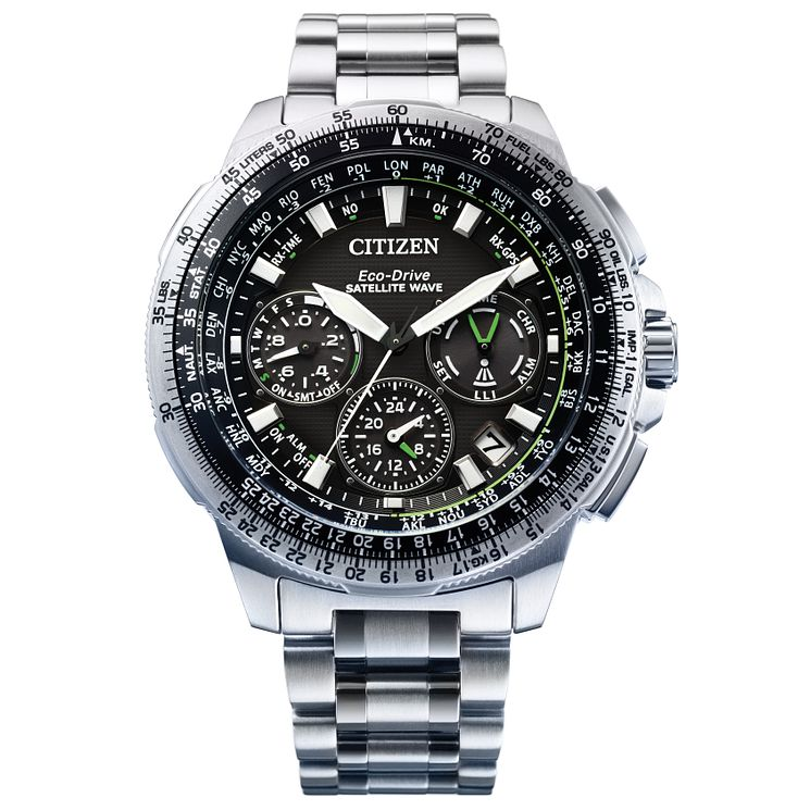 Citizen Eco Drive Men's Stainless Steel Bracelet Watch - Product number 4577795
