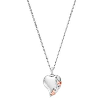 Clogau Gold Tree Of Life Silver & 9ct Rose Gold Pendant - Product number 4580931