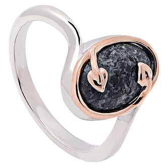 Clogau Gold Tree Of Life Silver Preseli Bluestone Ring - Product number 4581881