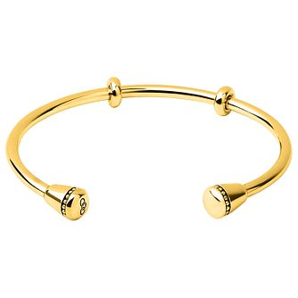 Links of London Yellow Gold Plated Cuff Bracelet - Product number 4586751