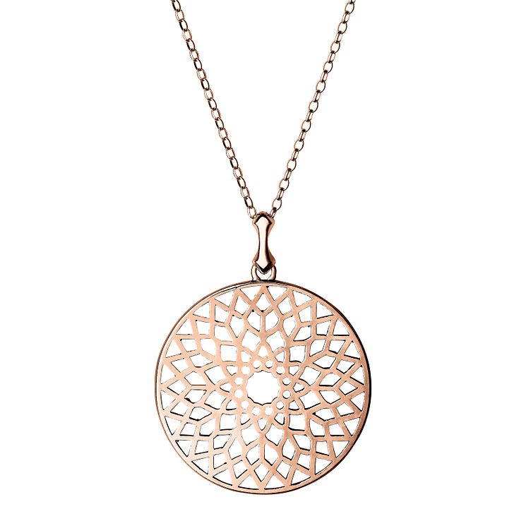 Links of London Timeless Rose Gold Vermeil Pendant Size L - Product number 4587855