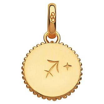 Links of London 18ct Yellow Gold Vermeil Sagitarius Charm - Product number 4588193