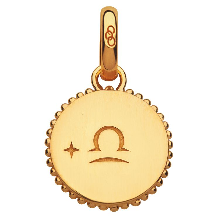 Links of London 18ct Yellow Gold Vermeil Libra Charm - Product number 4588274