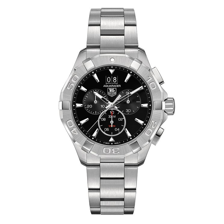 TAG Heuer Aquaracer Men's Stainless Steel Bracelet Watch - Product number 4590600