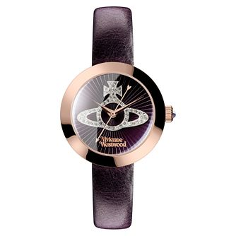Vivienne Westwood Ladies' Gold Plated Strap Watch - Product number 4590651