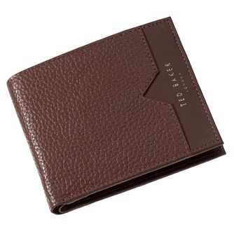 Ted Baker Looeze Men's Bifold Tan Leather Wallet - Product number 4600541