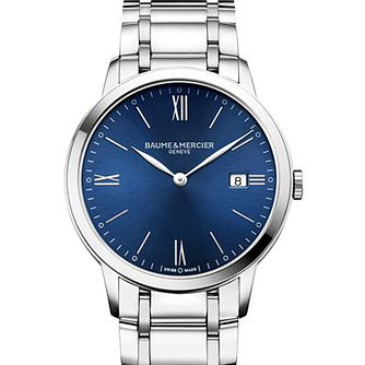 Baume and Mercier MyClassima Men's Blue Dial Bracelet Watch - Product number 4607163