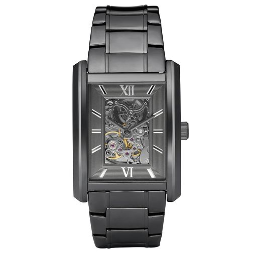 Relic Men's Grey Dial Gunmetal Ion-Plated Bracelet Watch - Product number 4608593