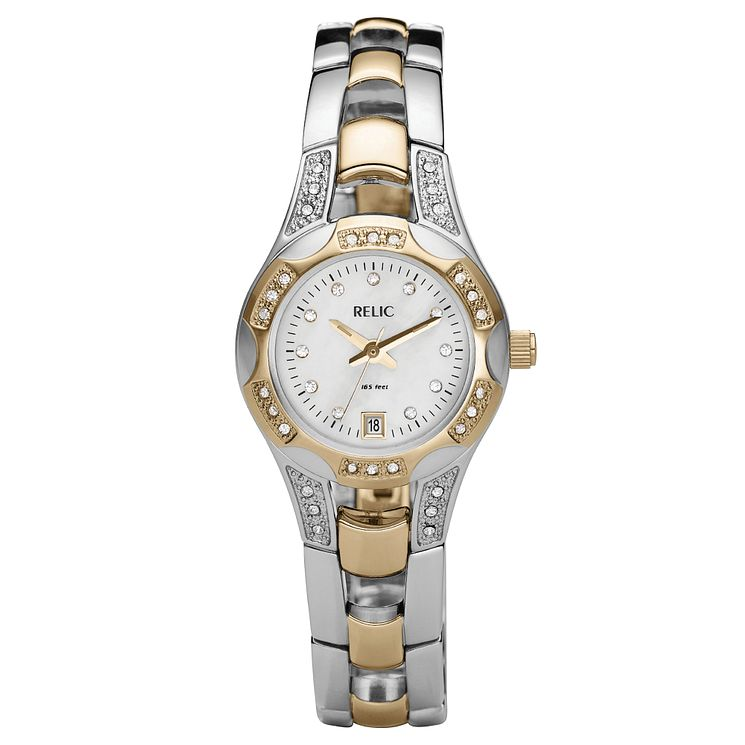 Relic Ladies' Two Colour Stainless Steel Bracelet Watch - Product number 4609247