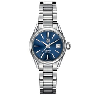 TAG Heuer Carrera Ladies' Blue Dial Bracelet Watch - Product number 4611241