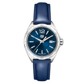 TAG Heuer Stainless Steel Formula 1 Blue Strap Watch - Product number 4611756