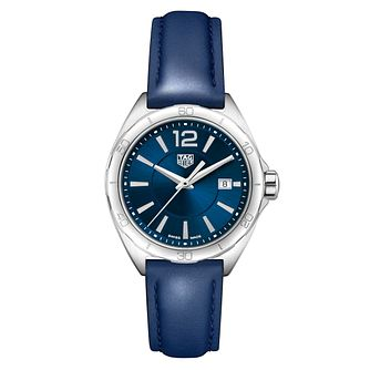 TAG Heuer Formula 1 Ladies' Blue Leather Strap Watch - Product number 4611756