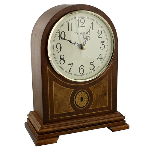 Wooden Arched Top Mantel Clock - Product number 4619013