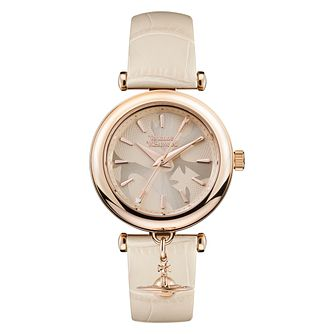 Vivienne Westwood Trafalgar Ladies' Rose Gold Plated Watch - Product number 4623304