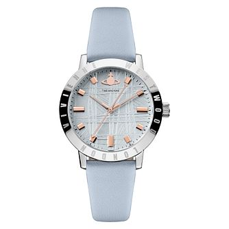 Vivienne Westwood Bloomsbury II Ladies' Blue Strap Watch - Product number 4623320