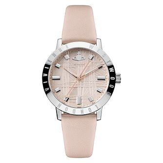 Vivienne Westwood Bloomsbury II Ladies' Pink Strap Watch - Product number 4623347