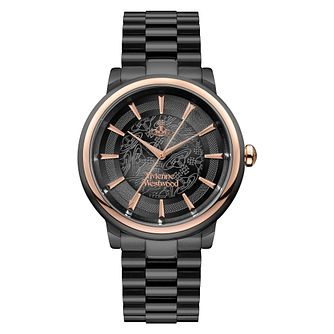 Vivienne Westwood Ladies' Black Tone Bracelet Watch - Product number 4623363