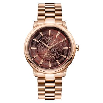 Vivienne Westwood Shoreditch Ladies' Rose Gold Plated Watch - Product number 4624114