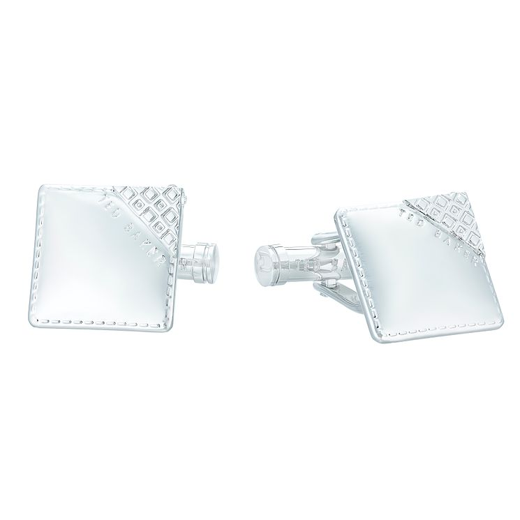 Ted Baker Stainless Steel Square Cufflinks - Product number 4624548