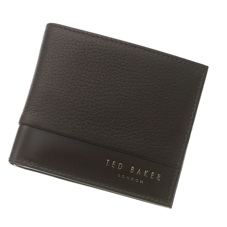 Ted Baker Men's Brown Leather Wallet - Product number 4624629