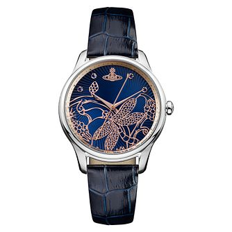Vivienne Westwood Fitzrovia Ladies' Blue Strap Watch - Product number 4628543