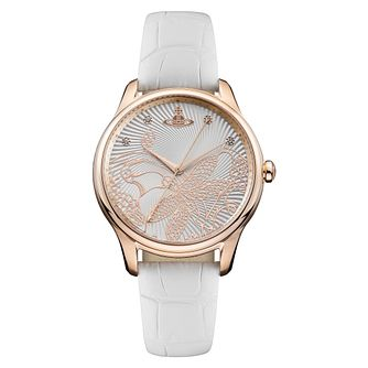 Vivienne Westwood Fitzrovia Ladies' Rose Gold Plated Watch - Product number 4629558