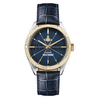 Vivienne Westwood Conduit Men's Two Colour Strap Watch - Product number 4631439