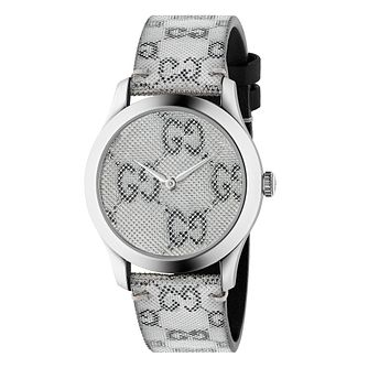Gucci G-Timeless Hologram Leather Strap Watch - Product number 4639677