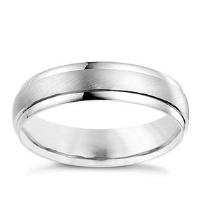 18ct white gold wedding ring - Product number 4643704