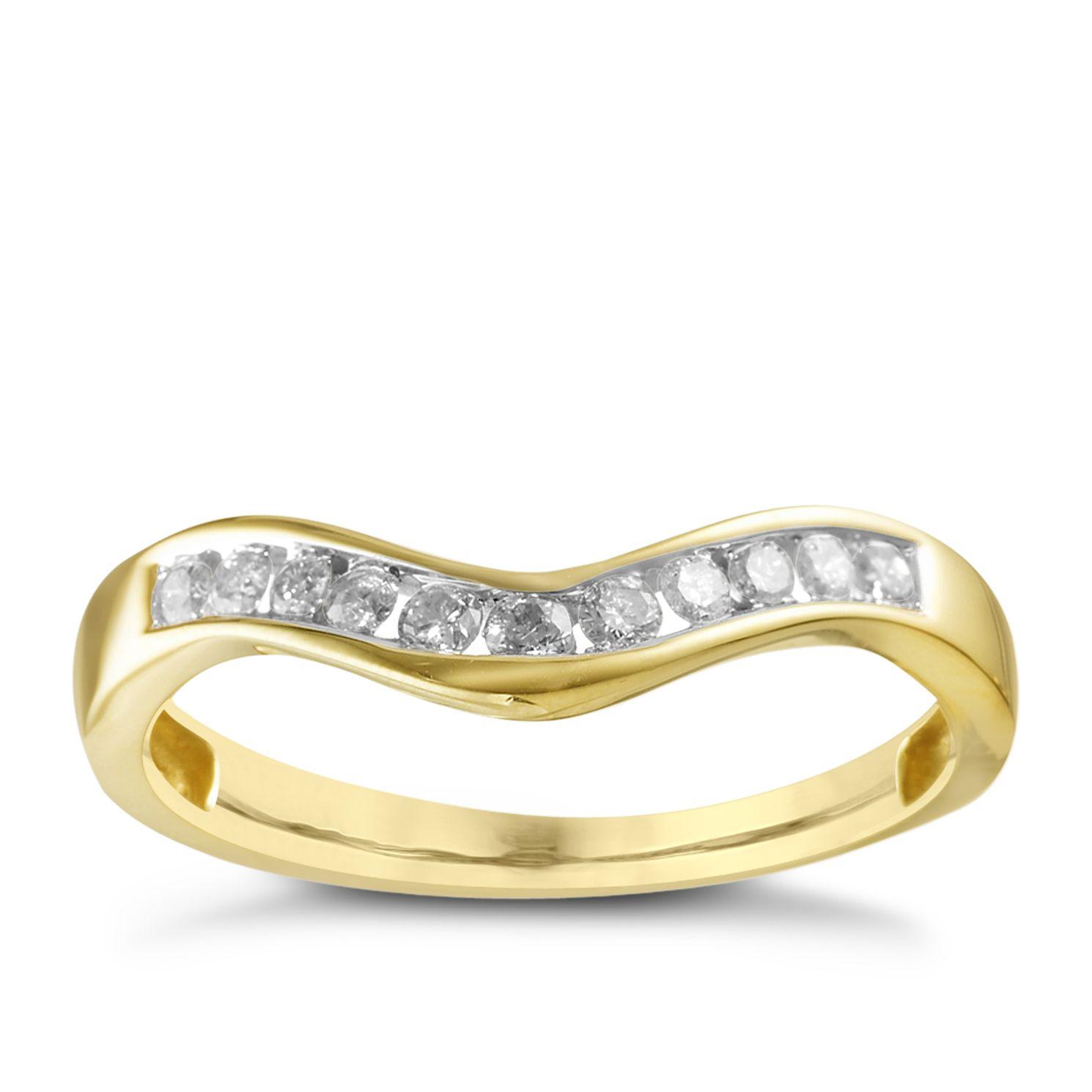 Wedding Yellow Gold Rings