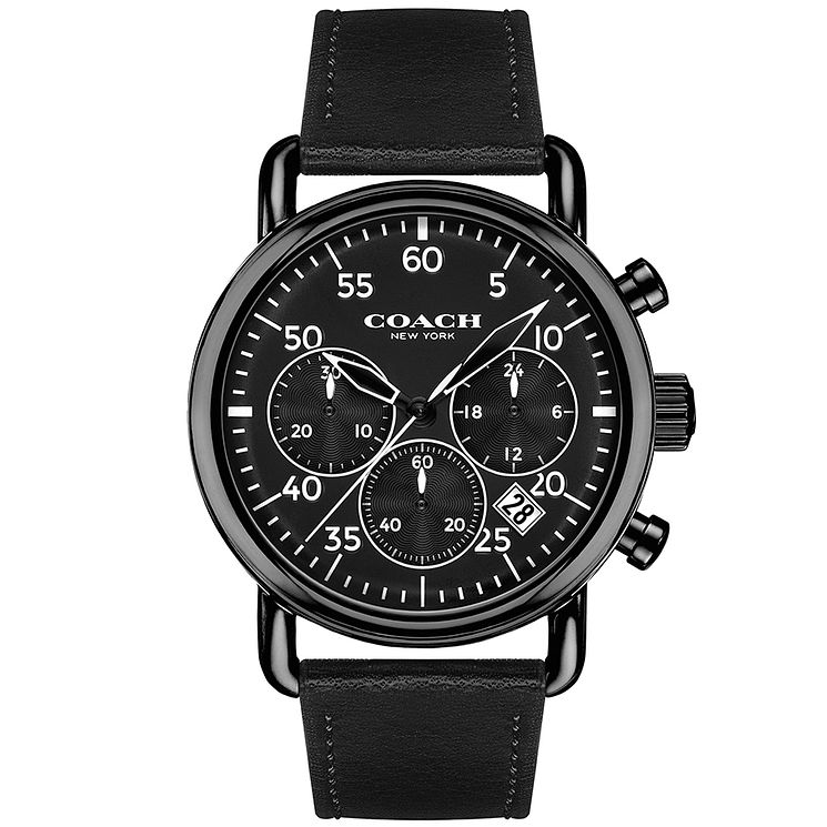 Coach Men's Ion Plated Strap Watch - Product number 4678230