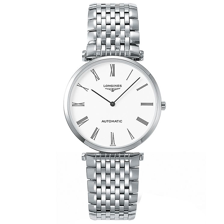 Longines Men's Stainless Steel Bracelet Watch - Product number 4678532