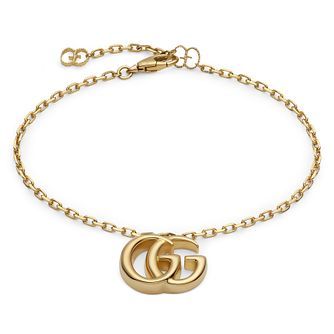 Gucci Double G Ladies' 18ct Yellow Gold Bracelet - Product number 4685466