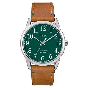 Timex Easy Reader Men's Green Strap Watch - Product number 4698002