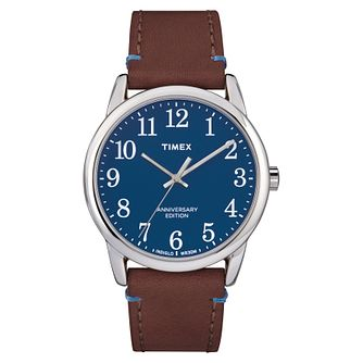 Timex Easy Reader Men's Blue Strap Watch - Product number 4698010
