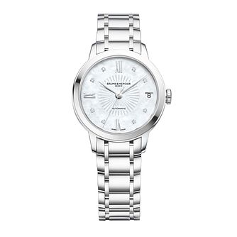 Baume & Mercier Ladies' Stainless Steel Bracelet Watch - Product number 4700090