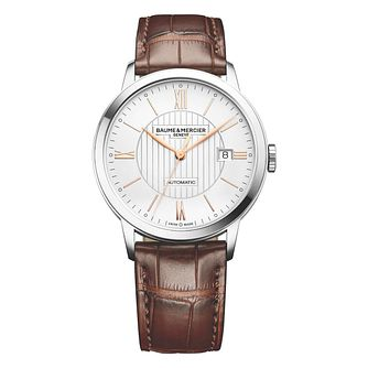 Baume & Mercier Classima Men's Stainless Steel Strap Watch - Product number 4700368