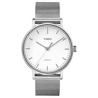 Timex Fairfield Ladies' Stainless Steel Bracelet Watch - Product number 4702743
