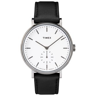 Timex Fairfield Men's White Strap Watch - Product number 4702948