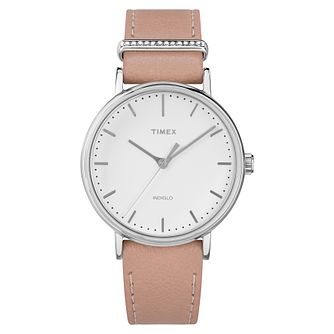 Timex Fairfield Ladies' White Strap Watch - Product number 4703057