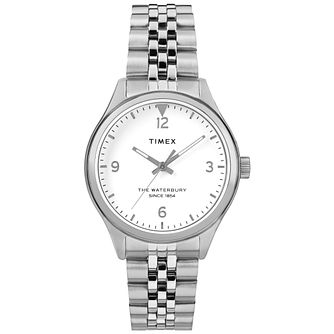 Timex Waterbury Ladies' White Bracelet Watch - Product number 4703081