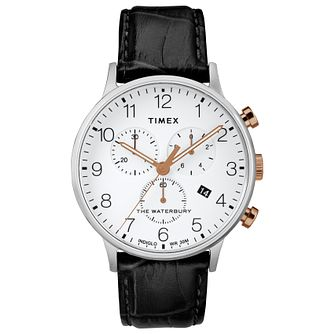 Timex Waterbury Men's White Strap Watch - Product number 4703278
