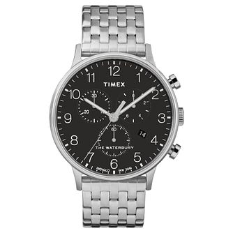 Timex Waterbury Men's Black Strap Watch - Product number 4703294