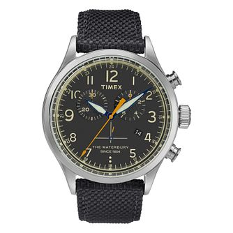 Timex Waterbury Men's Black Strap Watch - Product number 4703316
