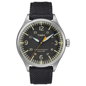 Timex Waterbury Men's Black Strap Watch - Product number 4703367