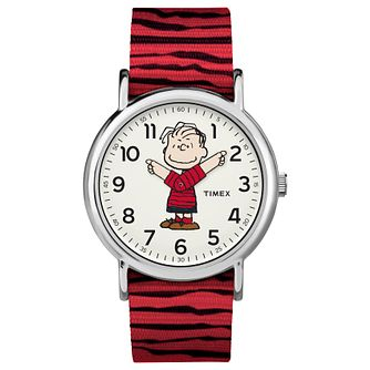 Timex Peanut Collection Linus Red Strap Watch - Product number 4703545