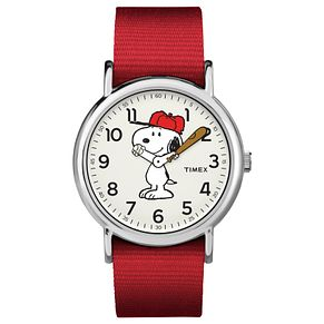 Timex Peanut Collection Snoopy Red Strap Watch - Product number 4703561